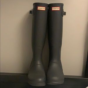 Hunter boots tall